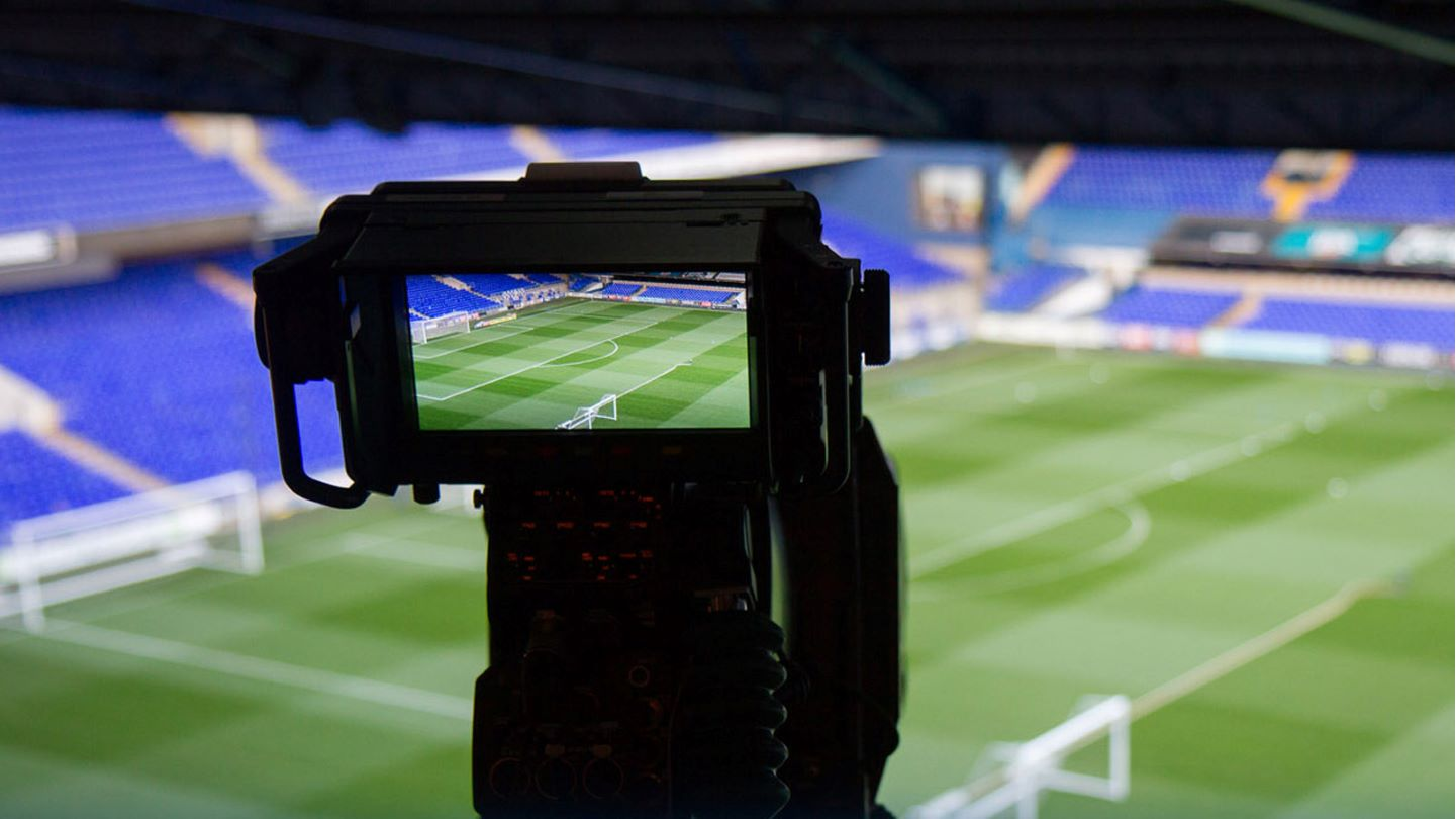 TV Camera at Portman Road