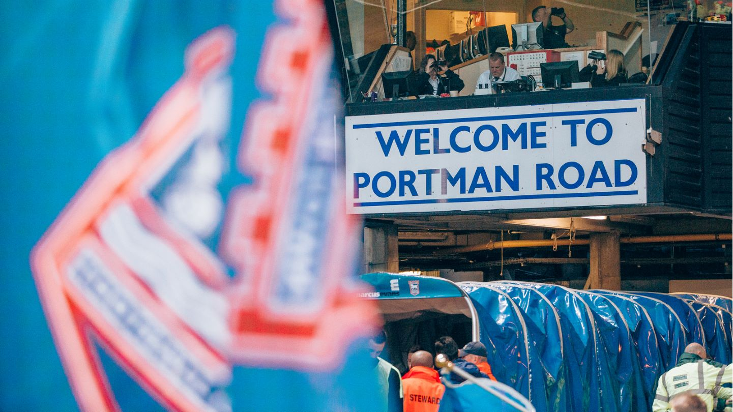 Welcome to Portman Road